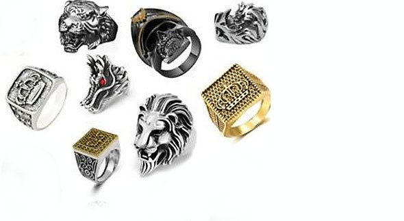 Men's Rings on TOMADE.com